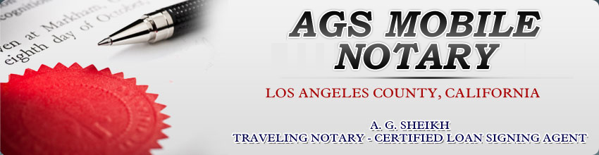 Traveling Notary Culver City